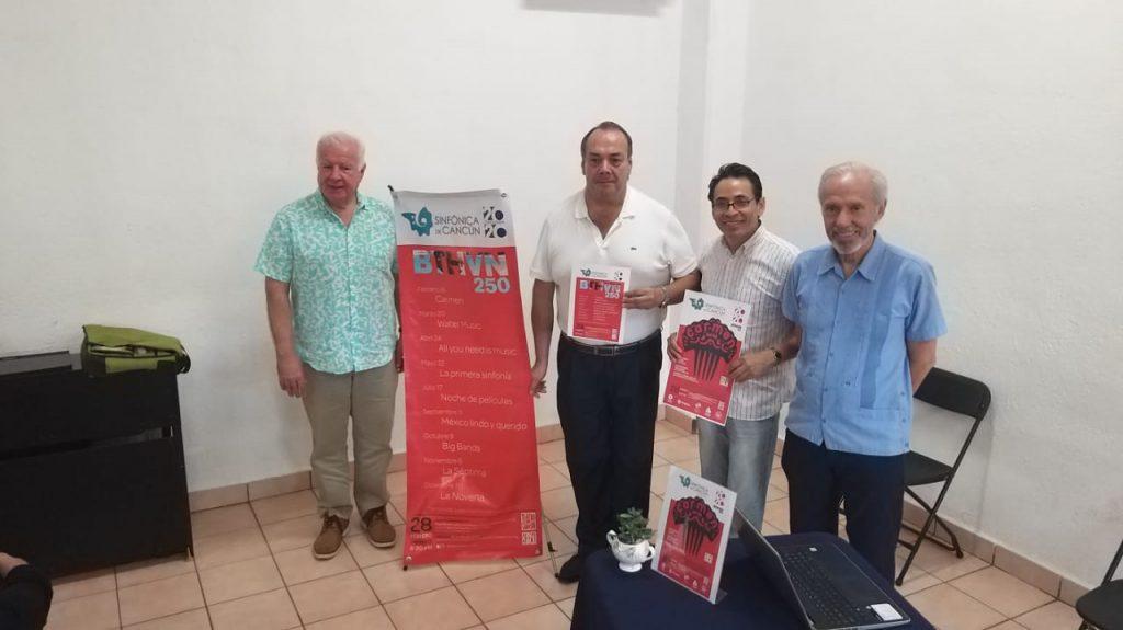 Jaime Valenzuela, Gerardo Acuña, Gerardo Tlapa y Manuel García Jurado.
